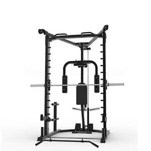 New AT10 Smith Machine, Lat / Row & Fly Extras, Half Rack Malaga Swan Area Preview