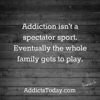Families Dealing with Addiction - group workshop