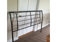 Kingsize Bed Frame Black Nickel PERFECT CONDITION
