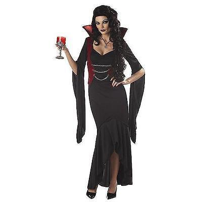 sexy Womens adult MADAME BLOODTHIRST Halloween costume LARGE  vampire elvira - Elvira Costumes