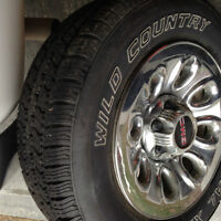 GMC tires and rims 6x139.7