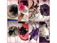 Various fascinator hat hair piece wedding masquerade races