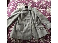 George girls winter coat age 8-9
