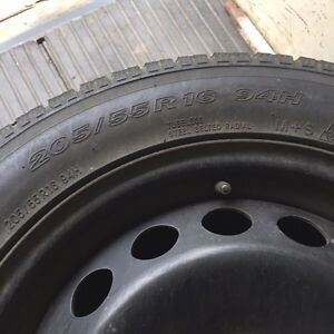 Winter Tires on RIMS for 2004 Volvo S60