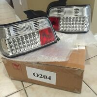^^** BMW BRAND NEW PHILIPS LED E36 TAIL LIGHTS!!