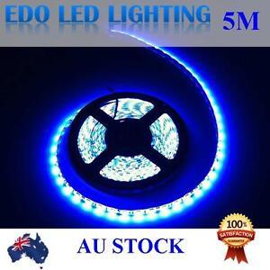 12V Blue 5M 5050 SMD 300 Leds LED Strips Strip Light Waterproof