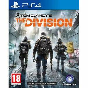 The Division PS4 game for swap Quakers Hill Blacktown Area Preview