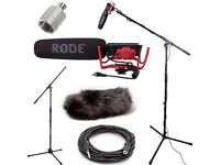 Wanted Rode VideoMic Studio Boom Kit