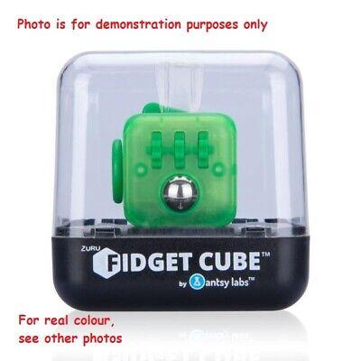 Zuru Fidget Cube Original Turquoise, Sparkle - Helps Anxiety/stress/boredom