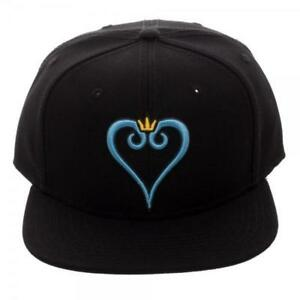 d2ca279929355 Kingdom Hearts Heart Embroidery Snapback Hat for sale online