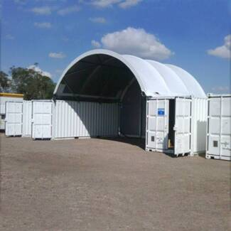 """BRAND NEW HEAVY DUTY Container Shelter 20"""" (W6 XL6 XH2M, 850G"""