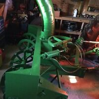 7.5ft snowblower with hydraulic shute