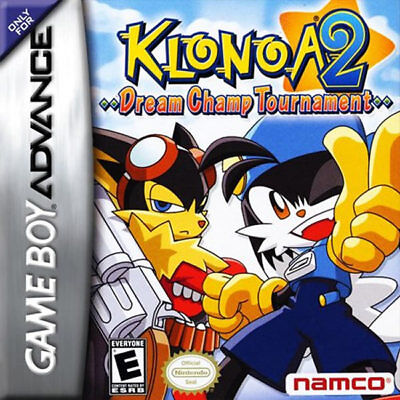 Namco Klonoa 2: Dream Champ Tournament Gba Game Boy Advance
