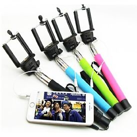 Brand New Extendable Universal Selfie Stick for Android 4.0, IOS 5.0 and above
