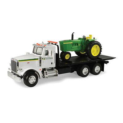 New John Deere Big Farm Peterbilt Model 367 W 4020 Tractor  Lights Sounds 46212