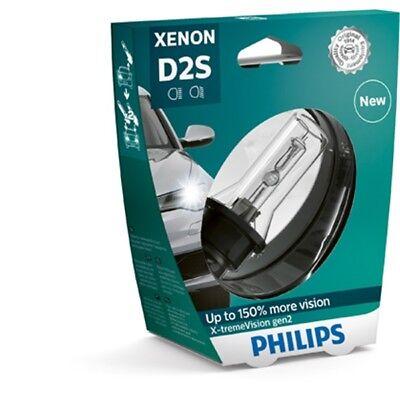 PHILIPS Xenon X-tremeVision gen2 D2S 85V 35W P32d-2 1er Blister - 85122XV2S1