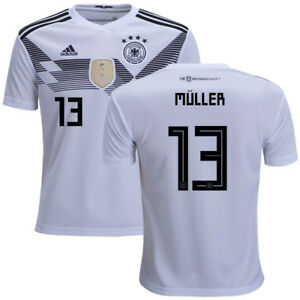 Men's Thomas Muller Germany Home Jersey 2018!! FREE SHIPPING