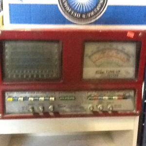 VINTAGE ANTIQUE Auto Box Tune Up Tester Sun TUT 915 $300
