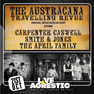Alt Country Gig The Agrestic Grocer Orange NSW