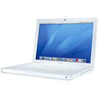 "Apple Macbook 13"" white laptop"