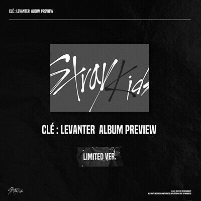 STRAY KIDS CLE:LEVANTER Album LIMITED CD+P.Book+4pCard+Mini Poster+etc+Pre-Order