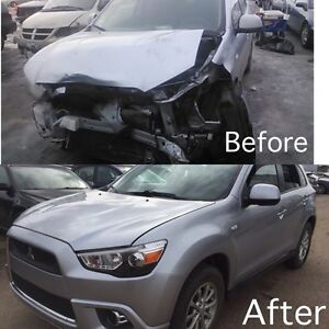 Affordable Auto Body Repair Bumper paint only $250