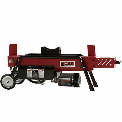 Boss Industrial 8-Ton Horizontal Dual-Action Electric Log Splitter