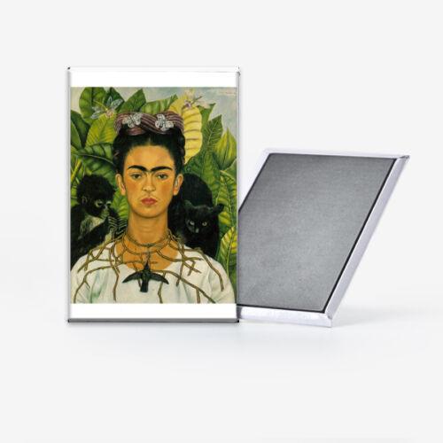 Frida Kahlo Self Portrait Refrigerator Magnet 2x3