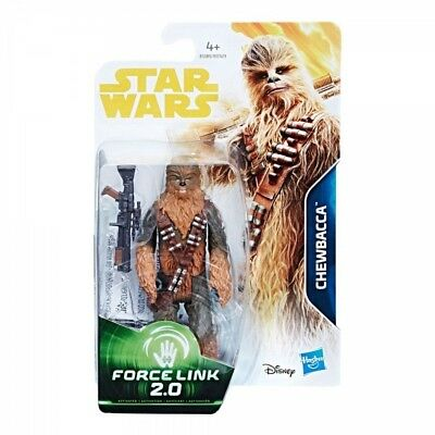 Star Wars Force Link 2.0 Chewbacca Solo Movie 3 3/4 Inch Action Figure