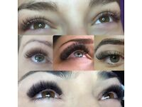 Individual eyelash extensions £35
