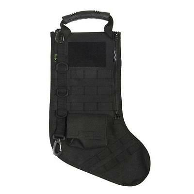 RuckUp Tactical Christmas Stocking with MOLLE Attachment Black RUXMTSB