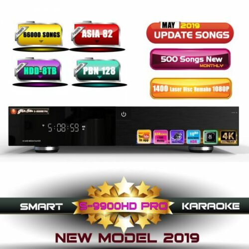 Giahan S-9900HD Pro Ultra 4K Vietnamese Karaoke Player 8TB / You Tube App