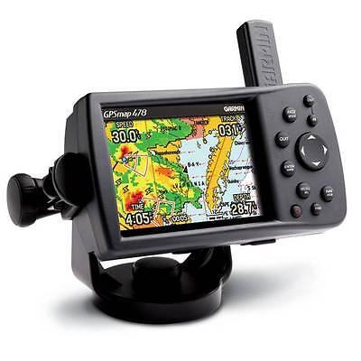 Chartplotter Charts - GARMIN GPS CHARTPLOTTER 478 GPSMAP MARINE CHARTS & ROAD MAPS INCLUDED 376C 276C