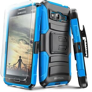 Brand new Samsung J3 case with screen protector