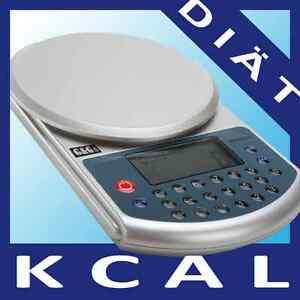 DB 5kg/1g Küchenwaage Diätwaage Kalorien-analyse Waage  Neuwertig