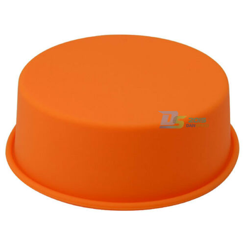 """7/"""" Round Silicone Cake Mold Pan Muffin Pizza Pastry Baking Tray Mould FA1"""