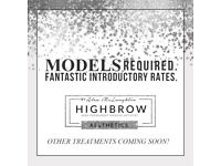 Models required for Semi Permanent Make up treatments for portfolio building.