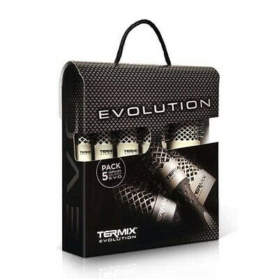 5 Mix TERMIX EVOLUTION PLUS HAIR BRUSH CEPILLO NEW