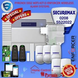 PYRONIX ENFORCER WIRELESS HOME SECURITY DIGI WIFI -KIT- D