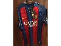 Barcelona home jersey mens medium