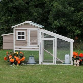 X-LARGE Sophie Chicken Coop with Run, Hen House, Rabbit Hutch
