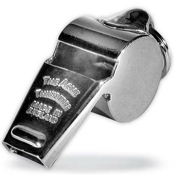 ACME Thunderer Nickel Plated Brass Whistle