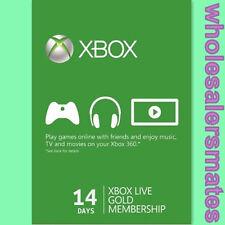 14 jours Trial Xbox Live Gold Carte Abonnement pour Xbox 360 et Xbox One FR