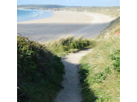 St Ives Bay West Cornwall 400m from wide sandy beaches