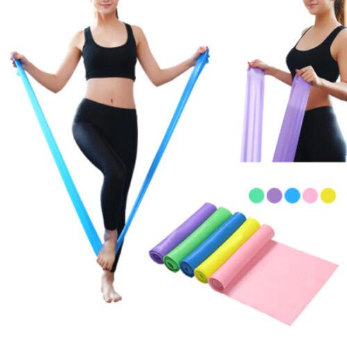 Yoga Pilates Stretch Resistance Band Exercise Expander Elastic Band Assist Bands