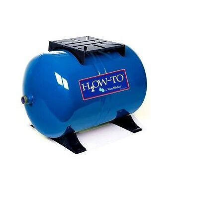 14 Gallon HT-14HB Precharged Pre-Charged Water Well Horizontal Pressure Tank