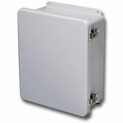Stahlin Electrical Fiberglass Enclosurebox J604hll 6x4x4 With Back Panel