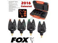 Fox MXR+ Multi Colour 4 Rod Presentation Set (Blue, Red, Orange & Green)