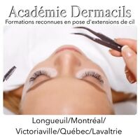Formation en pose de cils