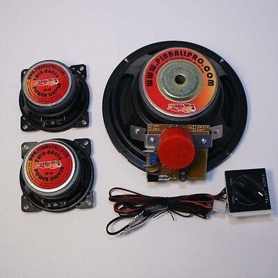 Pinball Pro Speaker kit Data East Teenage Mutant Ninja Turtles pinball machine